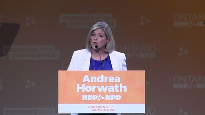 Horwath promises NDP government will set ambitious climate change targets