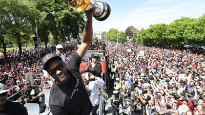 Canadian sports teams victory parades through the years