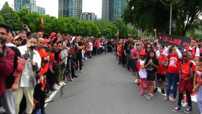 Toronto honours Raptors with parade and rally
