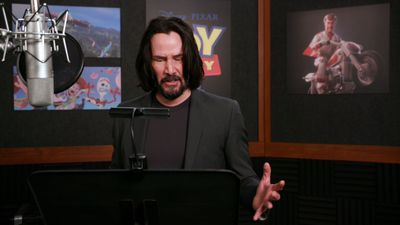 Keanu Reeves voices Canadian character in 'Toy Story 4'