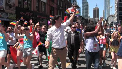 Canada's largest Pride parade takes over downtown Toronto