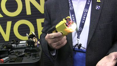 Trade show showcases the latest in police tools
