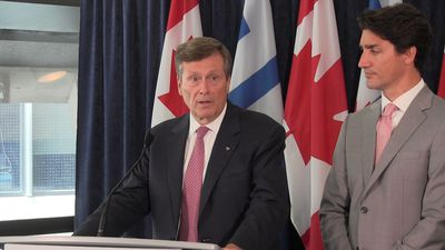 Tory and Trudeau on partnership to prevent gun violence