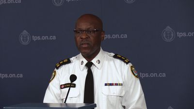 Toronto police chief discusses new plans to combat gun violence