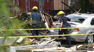 Driver charged after vehicle crashes into London home, causing gas explosion