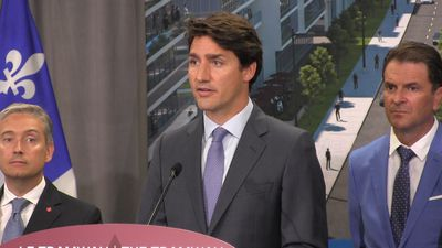 Trudeau repeats stance on SNC-Lavalin affair