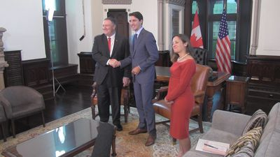 U.S. secretary of state visits Ottawa in advance of G7 meeting in France
