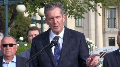 Manitoba's political parties shore up support before Tuesday's election