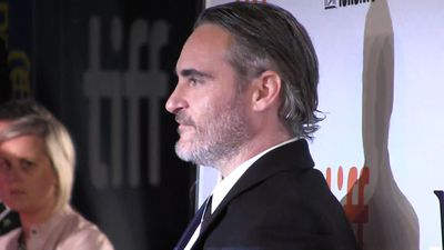 Joaquin Phoenix's portrait of a villainous clown in 'Joker' had its red carpet world premiere at TIF