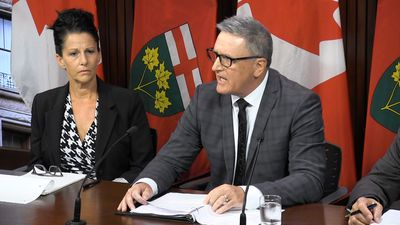 Former OPP deputy commissioner launches wrongful dismissal suit