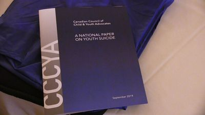 Children's advocates call on all levels of government to take action on youth suicide