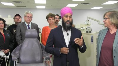 Campaign Day 8: More Liberal money for seniors, less for corporations from Conservatives as NDP prom