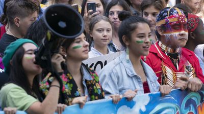 Thunberg in Edmonton on Friday for climate strike