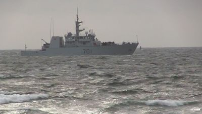 Memorial marks 50th anniversary of explosion and fire aboard HMCS Kootenay