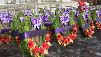 Canadian veterans reflect on their service at Montreal's Remembrance Day ceremony