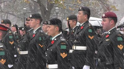Ontario legislature hosts Remembrance Day ceremony