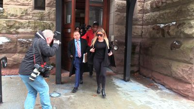 'Chair girl' pleads guilty to mischief