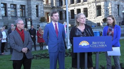 B.C. raises flag at legislature marking Transgender Day of Remembrance