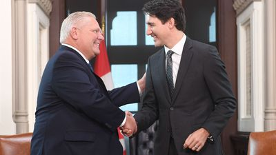 Trudeau, Ford, look for common ground after divisive election