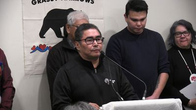 End delays on mercury centre: Grassy Narrows chief