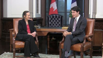 Trudeau meets new premier of Northwest Territories