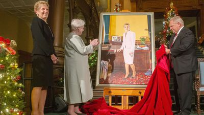 Kathleen Wynne portrait unveiled at Ontario legislature