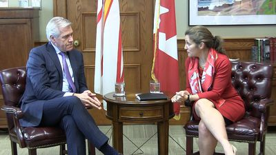 Freeland meets with Atlantic premiers in St. John's