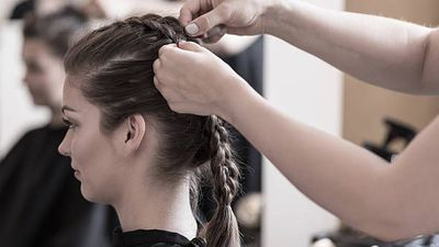 Skip the blow dry to save on salon costs
