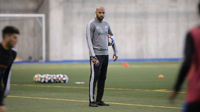 Thierry Henry hits field with Montreal Impact