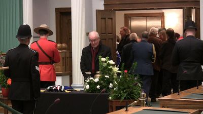 Public pays tribute to John Crosbie