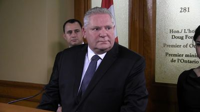 Ford criticizes teachers' union leadership