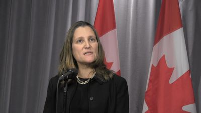 Deputy Prime Minister Chrystia Freeland says Ottawa finding common ground across Canada