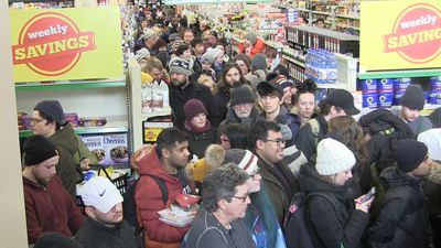Hundreds line up for groceries in St. John's after storm