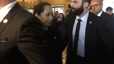 Meng Wanzhou leaves Vancouver court after end of first part of extradition hearing