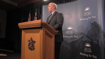 B.C. premier says legislature protests 'unacceptable'