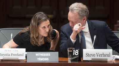 Freeland blasts Tories, thanks NDP on new NAFTA