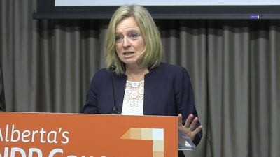 Kenney, Notley speak on Teck Resources Mine Pullout