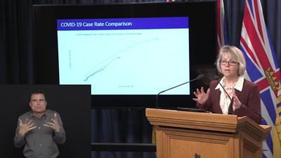 Data suggests B.C. efforts to flatten the curve of COVID-19 cases are starting to work