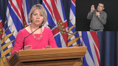 B.C.'s provincial health officer says the fight against COVID-19 is at a critical stage
