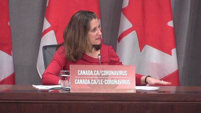 First Nations, remote communities need special attention in pandemic, Freeland says