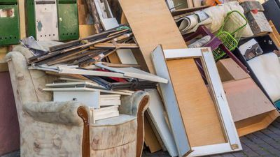 Staying at home offers chance to declutter
