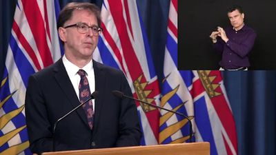 British Columbia's health minister is disappointed that the U.S. is blocking the export of N-95 mask