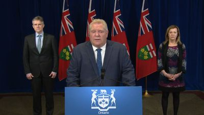 Ignoring COVID-19 restrictions can have 'devastating effects and endangers lives,' Ontario Premier D