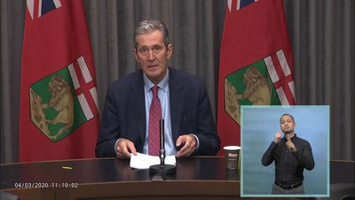 Manitoba government offers financial aid to people hurt by COVID-19 economic fallout