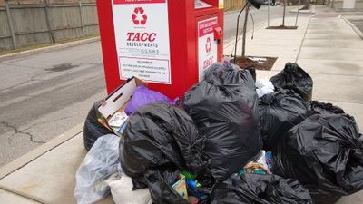 Some donation bins becoming dumping grounds
