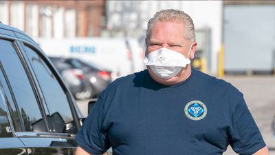 First Ontario-made pandemic masks ready for use