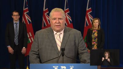 Patience thin with low Ontario testing: Ford