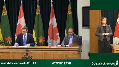 Saskatchewan projects up to 8,300 deaths from COVID-19