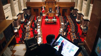 B.C. politicians to use technology to go back to the legislature amid COVID
