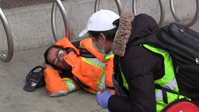 Many of Calgary's homeless prefer sleeping outdoors to limit risk of catching COVID-19